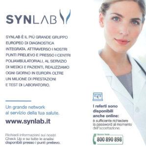 Synlab Lugo prelievi